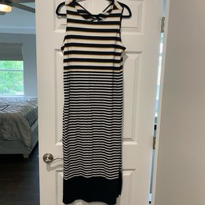 NWT The Loft Cotton Maxi Dress! Sizs L